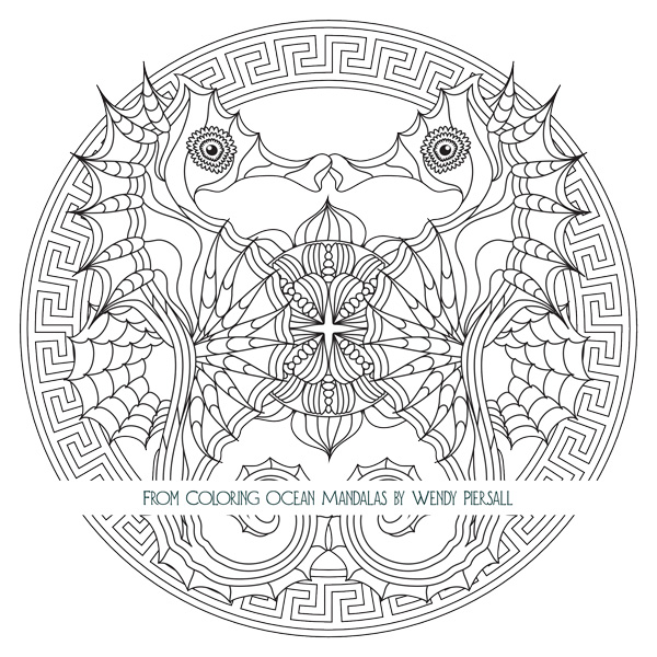Coloring Ocean Mandalas is Here  Preview the Book